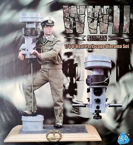 """DID WWII E60058 """"U-Boat Periscope w/ extra head (1/6 scale Diorama Set)"""