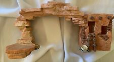 """Friends of the Feather Manger Bridge With Light Enesco 1996 11.5"""""""
