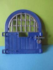 PLaymobil*Tür Tor blau + Gitter +Türriegel  3268 4865 4866 6000 Königsritterburg