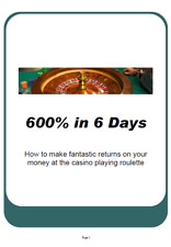✔️The #1 Roulette Betting Gambling System. Get Rich Fast, Earn #100 per hour.