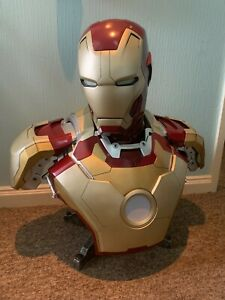 Sideshow Toys Iron Man 3 MK42 Mark 42 1:1 Scale Life Size Bust Statue