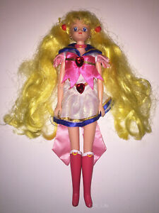 "SUPER SAILOR MOON | PARLANTE TALKING | GIOCHI PREZIOSI '90 | Doll 11"" Rare Italy"