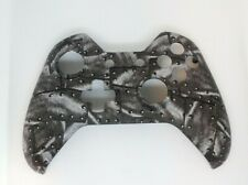 """Custom Xbox One Controller """"Riveted Metal"""" Front Shell w/tools (Matte)"""
