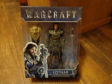 2016 JAKKS PACIFIC--WARCRAFT MOVIE--LOTHAR FIGURE (NEW)