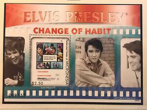 Elvis Presley Postage Stamp Arch Mint Unused Micronesia Nr.B47