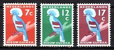 Dutch New Guinea - 1959 Definitives bird - Mi. 54-56 MH