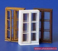 Plus Model 1:35 Windows Set II Foil & Resin Diorama Accessory #184