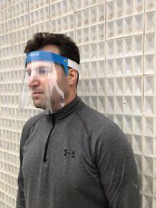 Full Face Covering Visor Mask Shield Protection Reusable Splash Guard Safety
