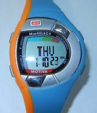 MIO Motiva Heart Rate Monitor Watch Calorie Management Orange New Battery w Book