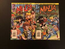 Ninja High School 1-2 High Grade Key Comic Lot Set Run 22-389