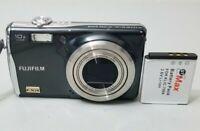Fujifilm FinePix F Series F70EXR 10.0MP Digital Camera - Gunmetal *GOOD/TeSTED*