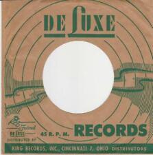 US Deluxe record sleeve Original 60's no writing - Eddie Burns, John Lee Hooker