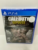 Call of Duty WWII WW2 World War 2 PS4 PlayStation 4 Brand New Sealed