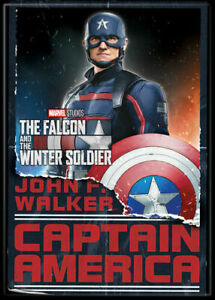 The Falcon & The Winter Soldier Photo Quality Magnet Captain America