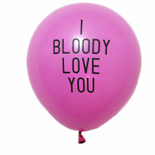 10pcs Abusive Balloons Funny Rude Badass Balloon Bachelorette Party Decorations