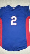 yeyson yrizarri signed game used rangers jersey