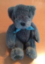 """Russ Blue Bear Named Teddy 8"""""""