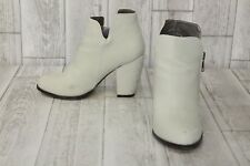 Michael Antonio - Marlie Ankle Boots Womens Size 7.5 Winter White