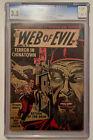 Vintage+Quality+Comics+WEB+OF+EVIL+%2317+Opium+Story+Comic+Book+-+CGC+3.5+10C