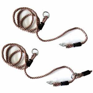 Verlängerungsseil für Schaukel 2 Stück Seil Schaukelseile verstellbar 110-180 cm