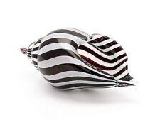 Glasschale Glas Schale Italien im Murano antik Stil Shell 27cm Muschel Glass