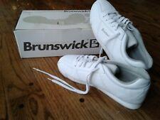 New Vtg Womens sz 8 1/2 Brunswick Bowling Shoes White