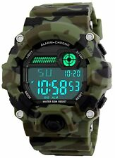 Kids Military Digital Watch With Timer - Waterproof Sports Watch