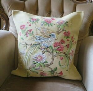 BIRDS OF PARADISE FLORAL FLOWERS GARDEN GARDEN ROOM TAPESTRY CUSHION COVER ONLY