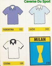 004 FIORENTINA LAZIO AC.CESENA MILAN ITALIA CARD CARTA CALCIO QUIZ VALLARDI 1991