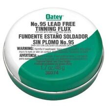 Oatey 30373 No. 95 Lead Free Tinning Flux With Brush *