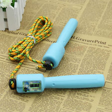 LCD Adjustable Digital Handle Jumping Skipping Rope Counter Timer Gym Fitness