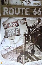 ROUTE 66-Map-Licensed POSTER-90cm x 60cm-Brand New