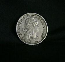 1964 Portugal 50 Centavos Copper Nickel World Coin KM577 Liberty Head Shield