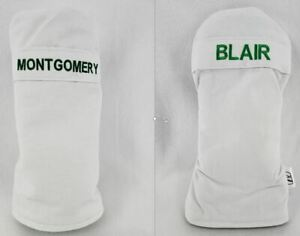 Personalized Masters Caddy Jumpsuit Inspired Headcovers - Mitt or Cylinder Style