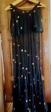 Robe de soirée 1920 broderie Antique French Art Deco Evening Dress