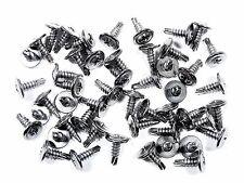 "Ford Truck Chrome Trim Screws- Self Tap #8 x 1/2"" Washer Head- 50 screws- #230F"