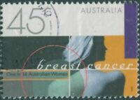 Australia 1997 SG1722 45c Breast Cancer Awareness FU