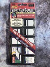 Pioneer Memory Card Organizer w/labels- Holds 10 SD, SDHC, MicroSD, MiniSD, etc.