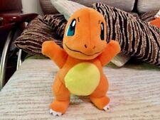 2017 Authentic Tomy Charmander Pokemon Center Plush Toy Doll NEW