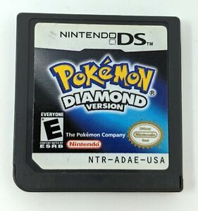 Pokemon Diamond Version Authentic DS Lite 3DS DSi Tested Working