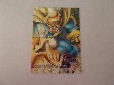 "Fleer & Skybox / DC & Marvel Amalgam ""AMERICA'S GUARDIAN ANGEL"" #56 Trading Card"