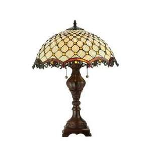 Meyda Lighting 24'H Diamond & Jewel Table Lamp - 124834