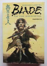 Blade of the Immortal Omnibus III 3 Dark Horse Graphic Novel Comic Book