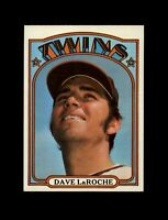 1972 Topps Baseball #352 Dave LaRoche (Twins) NM