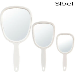 Sibel Hand Held Professional Salon Mirror For Vanity Beauty/Make-Up Pocket Size