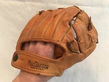 Vintage MacGregor G111 Leather Infield Baseball Glove in EXCELLENT Condition!