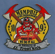 MEMPHIS TENNESSEE FIRE DEPARTMENT ENGINE 10 TRUCK 9 COMPANY PATCH TAZ