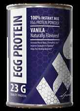 Post Workout Recovery Drink - EGG PROTEIN VANILLA 12oz - Low In Calories 1C