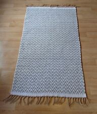 Cotton Blend Hand-Woven Contemporary Rugs