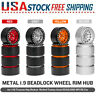 4*Metal 1.9 Beadlock Wheel Rim for 1/10 Traxxas Tamiya Axial D90 HPI RC Car Y7A0